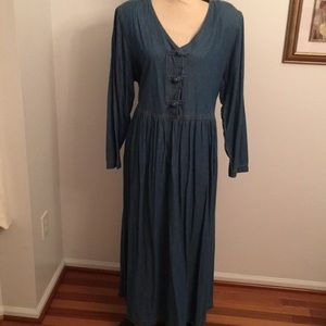Coldwater Creek Jean maxi dress